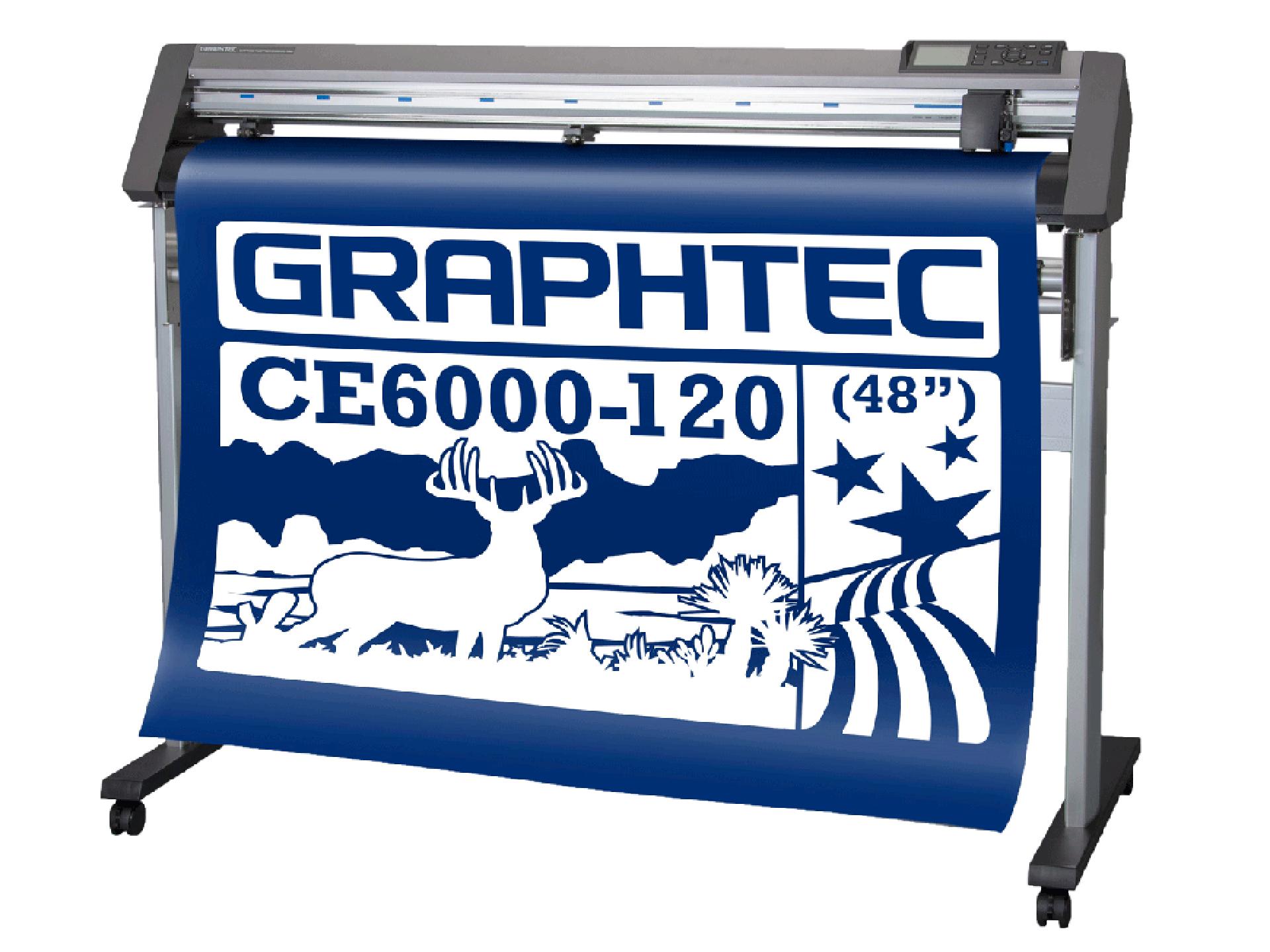 Graphtec CE6000 120 Plotter-Graphtec-Plotter