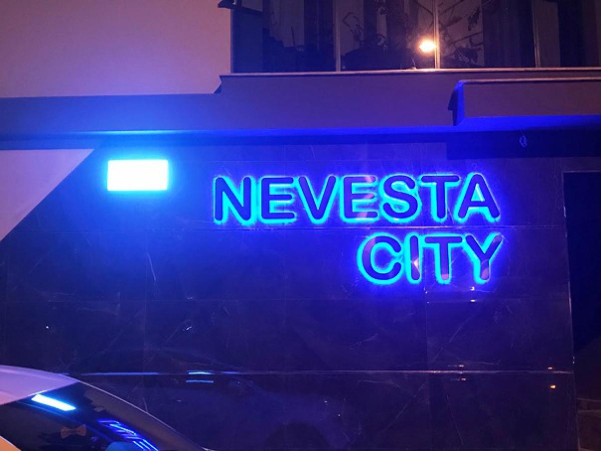 NEVESTA CITY Krom Kutu Harf